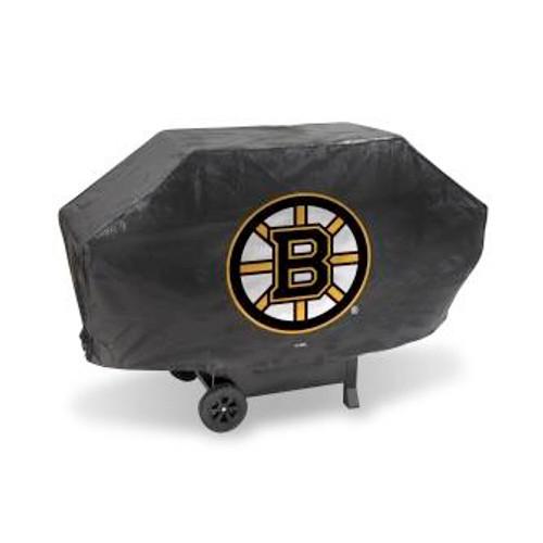 Boston Bruins Black Deluxe Grill Cover