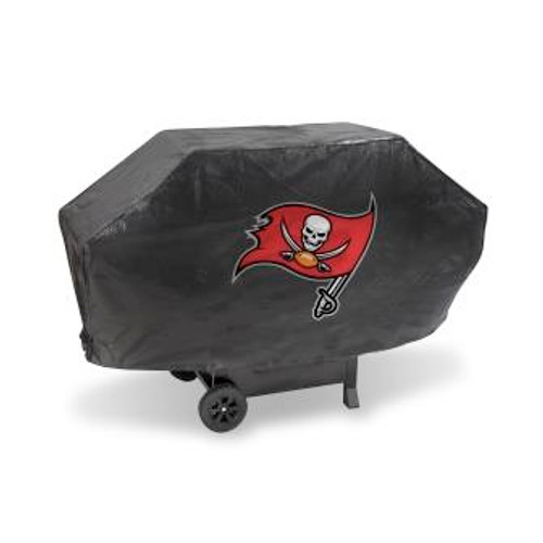 Tampa Bay Buccaneers Black Deluxe Grill Cover