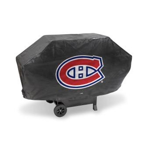 Montreal Canadiens Black Deluxe Grill Cover