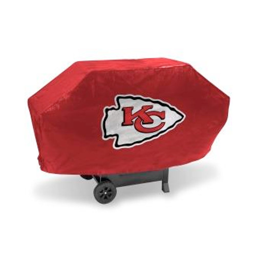 Kansas City Chiefs Red Deluxe Grill Cover