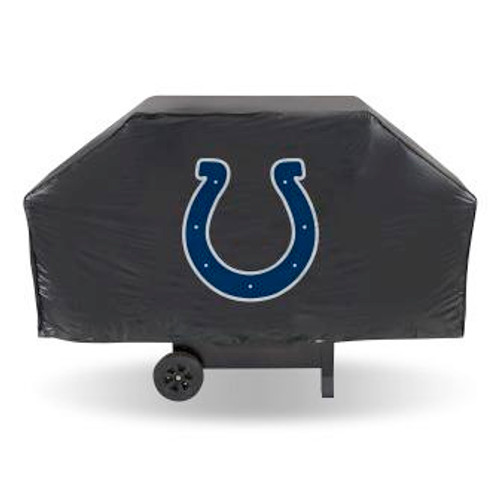 Indianapolis Colts Black Economy Grill Cover