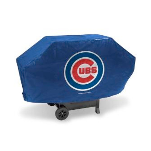 Chicago Cubs Blue Deluxe Grill Cover
