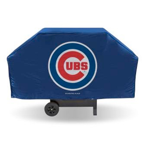 Chicago Cubs Blue Economy Grill Cover