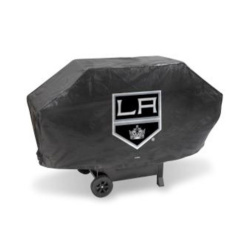 Los Angeles Kings Black Deluxe Grill Cover