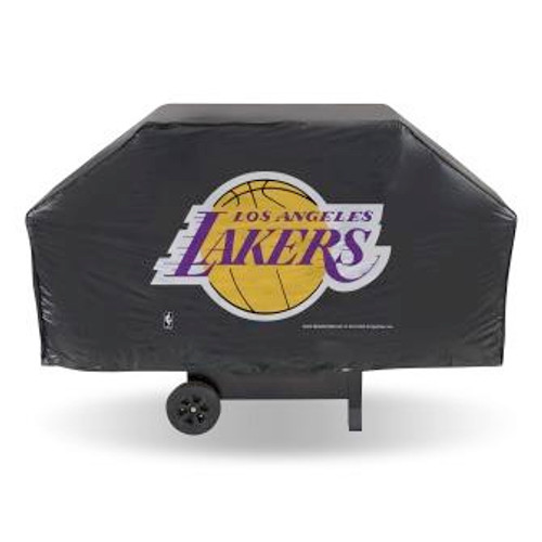 Los Angeles Lakers Black Economy Grill Cover
