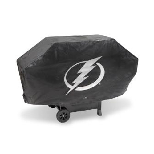 Tampa Bay Lightning Black Deluxe Grill Cover