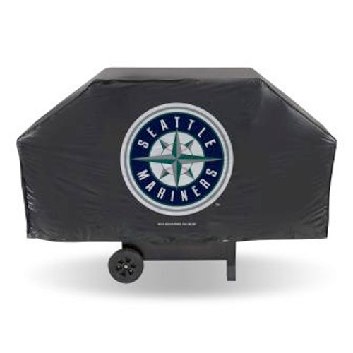 Seattle Mariners Black Economy Grill Cover