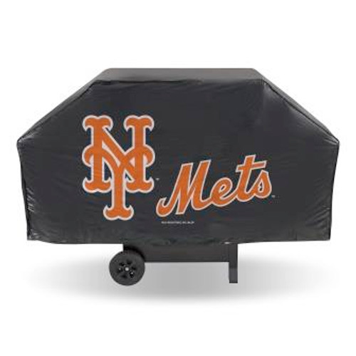 New York Mets Black Economy Grill Cover