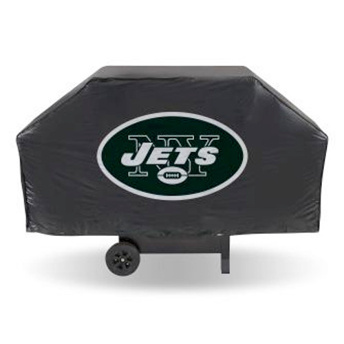 New York Jets Black Economy Grill Cover
