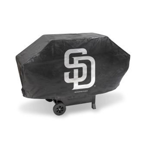 San Diego Padres Black Deluxe Grill Cover