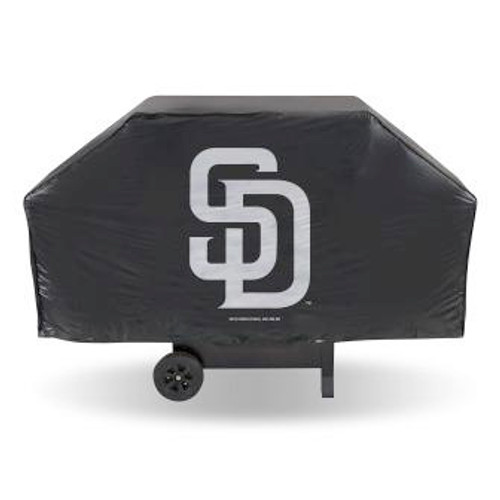 San Diego Padres Black Economy Grill Cover
