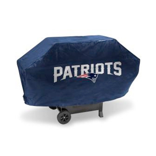 New England Patriots Navy Deluxe Grill Cover