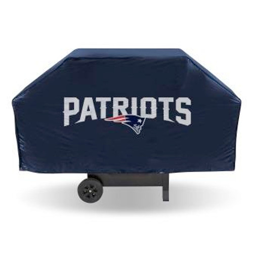 New England Patriots Navy Economy Grill Cover