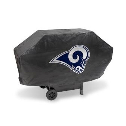 Los Angeles Ram Black Deluxe Grill Cover