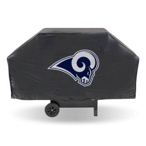 Los Angeles Rams Black Economy Grill Cover