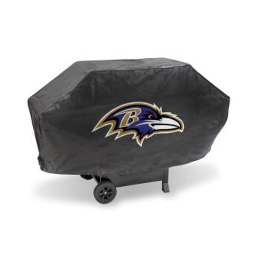 Baltimore Ravens Black Deluxe Grill Cover