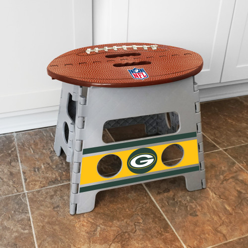 Green Bay Packers Folding Step Stool