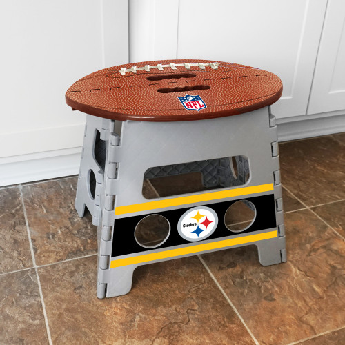 Pittsburgh Steelers Folding Step Stool