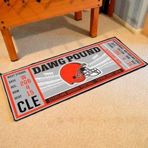 Cleveland Browns Ticket Runner