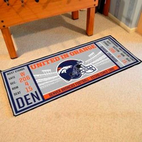 Denver Broncos Ticket Runner