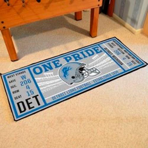 Detroit Lions Ticket Runner