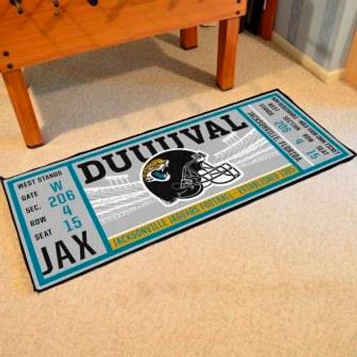 Jacksonville Jaguars Ticket Runner