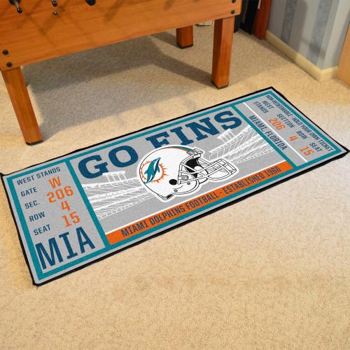 Miami Dolphins Ticket Runner