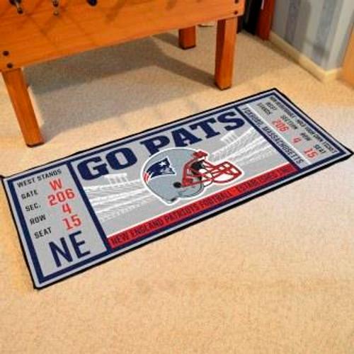 New England Patriots Ticket Runner