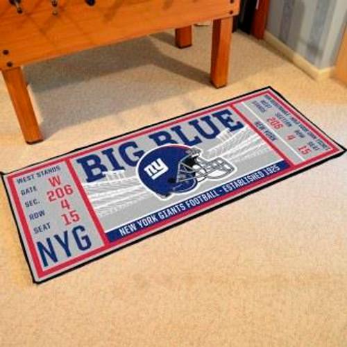 New York Giants Ticket Runner
