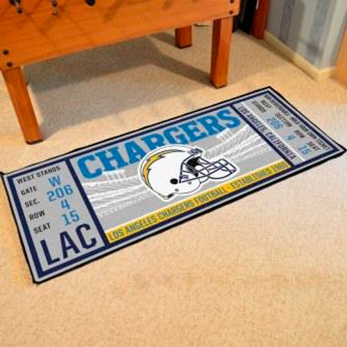 Los Angeles Chargers Ticket Runner