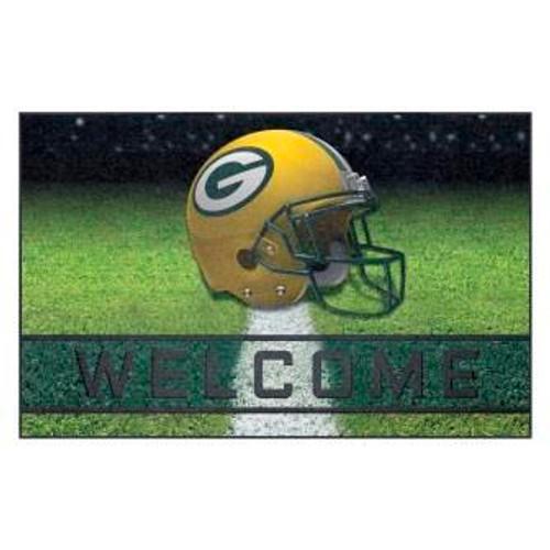 Green Bay Packers Crumb Rubber Door Mat