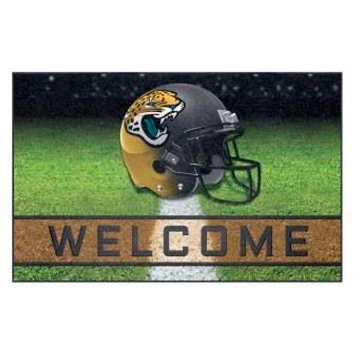Jacksonville Jaguars Crumb Rubber Door Mat