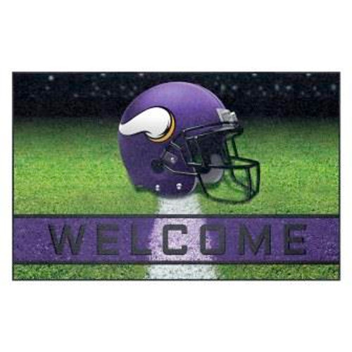 Minnesota Vikings Crumb Rubber Door Mat