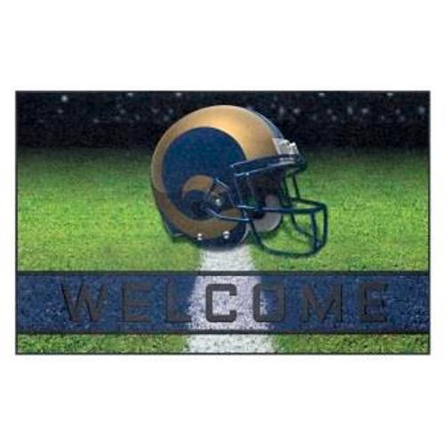 Los Angeles Rams Crumb Rubber Door Mat