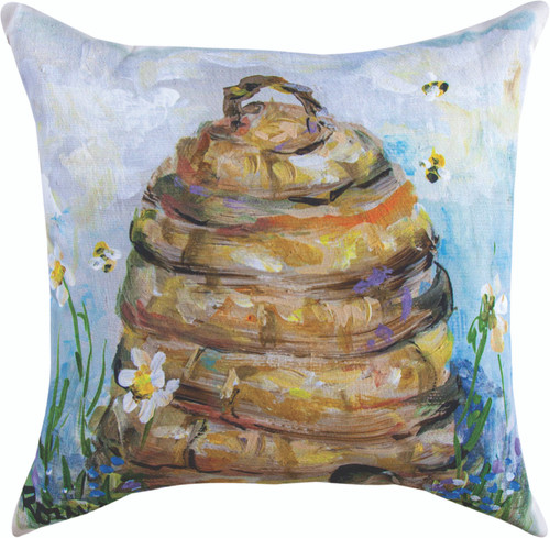 Skep Hive Climaweave Pillow