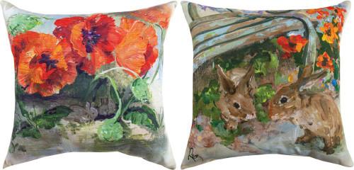 2 Bunnies Climaweave Pillow