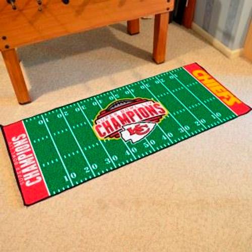 Kansas City Chiefs Super Bowl LIV Football Field Runner