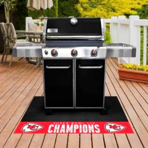 Kansas City Chiefs Super Bowl LIV Grill Mat