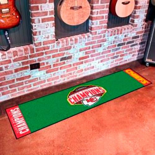 Kansas City Chiefs Super Bowl LIV Putting Green Mat