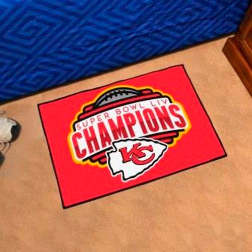 Kansas City Chiefs Super Bowl LIV Starter Mat