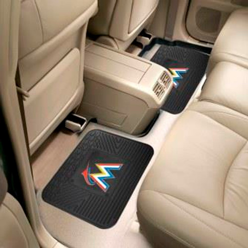 Miami Marlins Utility Mats 2 Pack