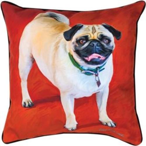 The Pug 18 x 18 Pillow