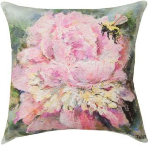 Peony Climaweave Pillow