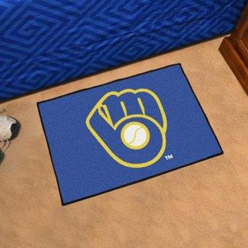 Milwaukee Brewers Logo Starter Mat