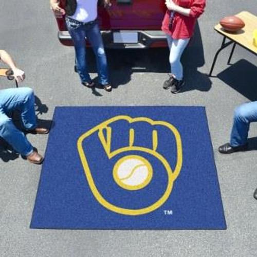 Milwaukee Brewers Logo Tailgater Mat