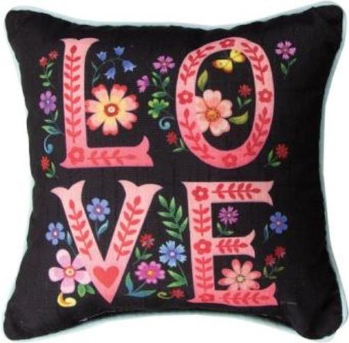 Wildflower Love 12 x 12 Pillow