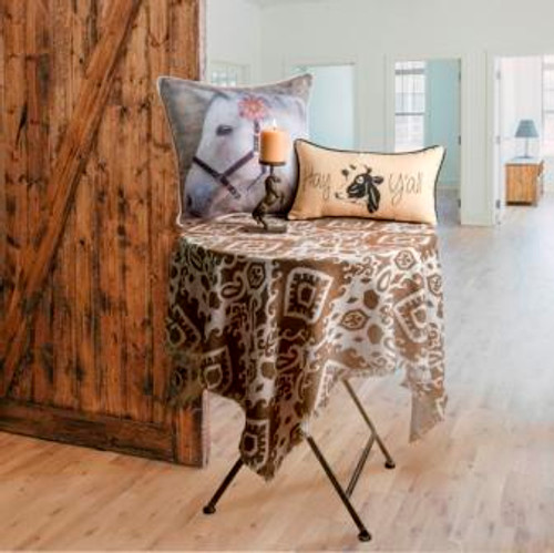 Barnyard Animals Poly Table Topper
