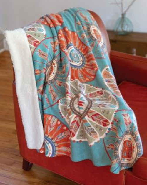 Southwest at Heart Tapestry Throw