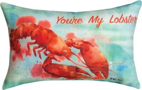 You're My Lobster 12.5 x 8.5 Pillow