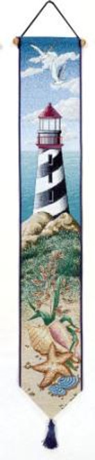 Lighthouse View Bell Pull